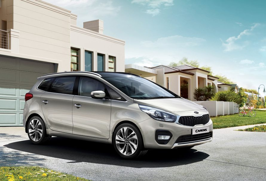 2017 Kia Carens / Rondo Updated In Time For Paris