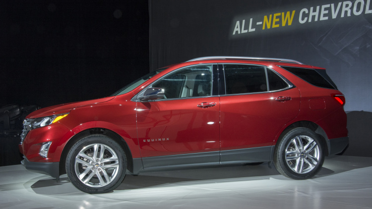 2018 Chevy Equinox gains turbo power and an optional diesel