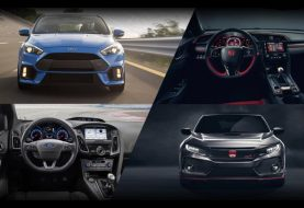 Poll: Ford Focus RS or Honda Civic Type R?