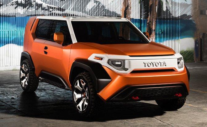 Toyota FT-4X Concept Previews FJ Cruiser Successor