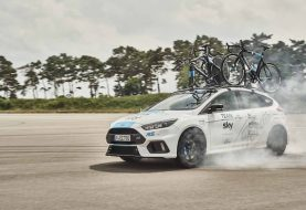 Ford Focus RS Makes For One Cool Tour de France Support Car