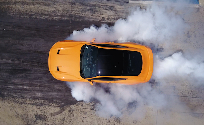 Ford Mustang EcoBoost Now Offered With a Burnout Button