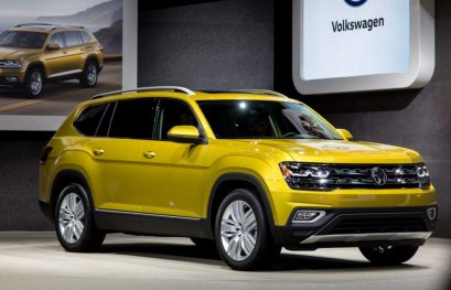 2018 VW Atlas SUV Starts at $31,425