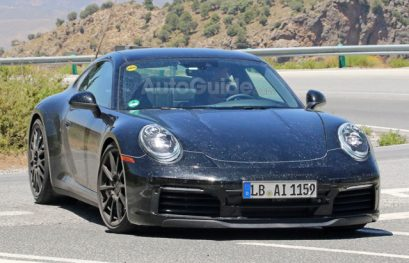 2019 Porsche 911 Coupe Reveals More in Latest Spy Photos