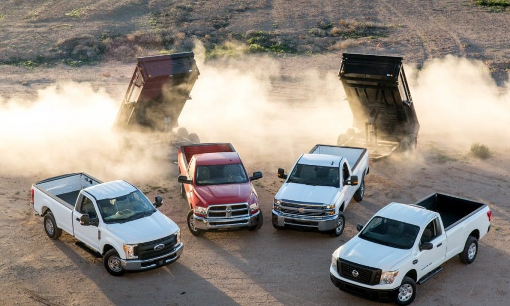 What's the Best 3/4-Ton Work Truck for 2017?