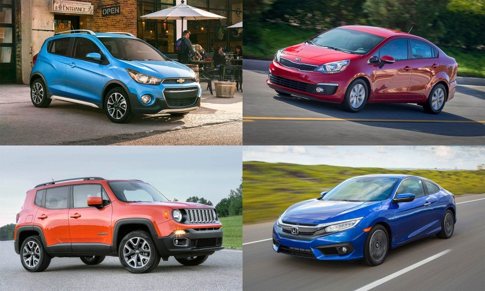 Least Expensive New Cars for 2017