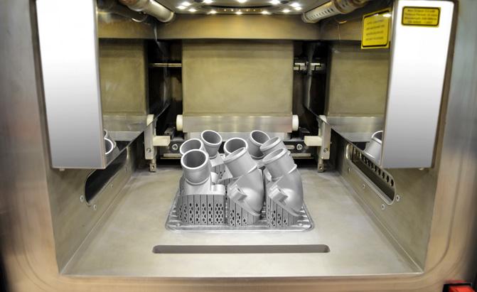Mercedes-Benz is 3D Printing Metal Parts