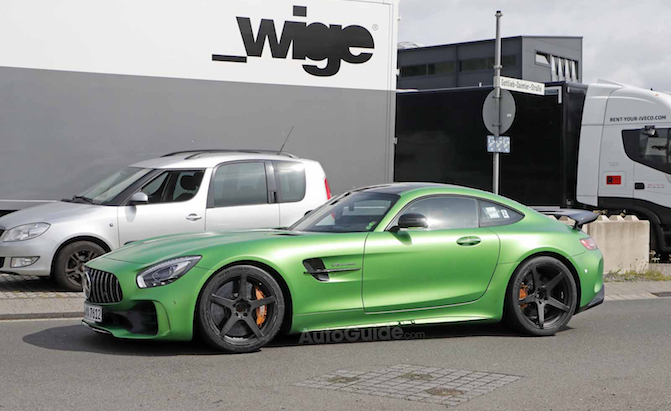 A Mercedes-AMG GT R Black Series is Coming – But Not For a Few Years