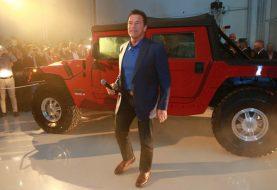 Arnold Schwarzenegger Gets an All-Electric 489-HP Hummer H1
