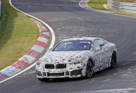 Spy Photos Provide Best Look Yet at 2018 BMW M8
