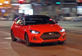 2019 Hyundai Veloster Spied During Video Shoot