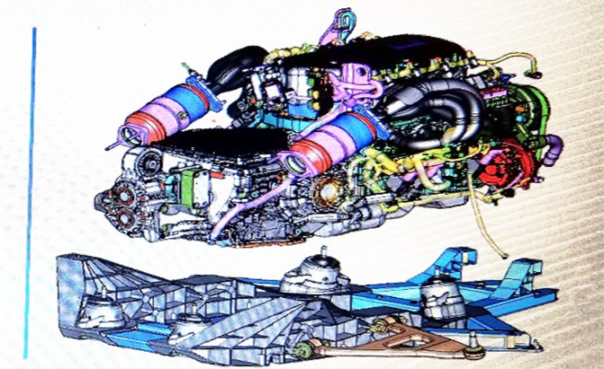 CAD Images of Mid Engine C8 Corvette Leak!