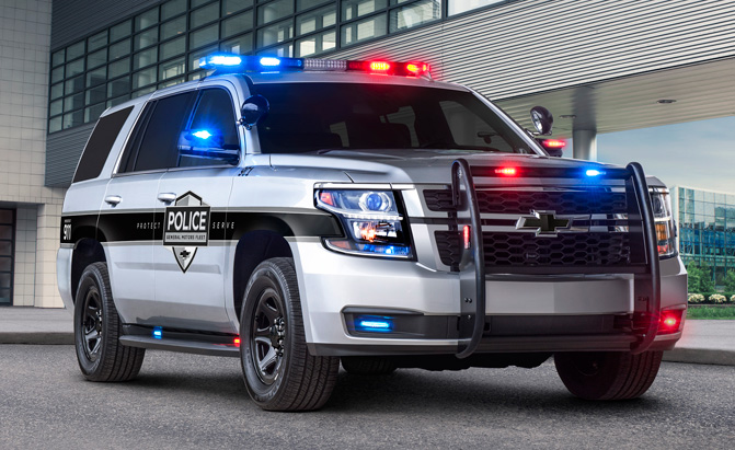 Chevrolet Adds New Safety Tech to Keep its Police Vehicles Safer