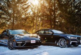 2018 BMW M760i vs Porsche Panamera Turbo Comparison