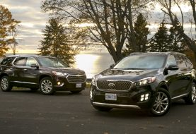 2018 Chevrolet Traverse vs Kia Sorento