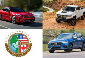 2018 North American Car / Truck / UV of the Year: Finalists