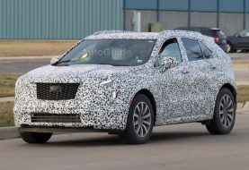 Cadillac XT4 Spotted With Production Styling Cues on Display