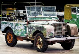 Land Rover Celebrates 70 Years with Cool Restoration Project