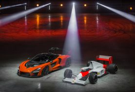 McLaren Christens New Factory by Doing Donuts in Senna Road Car