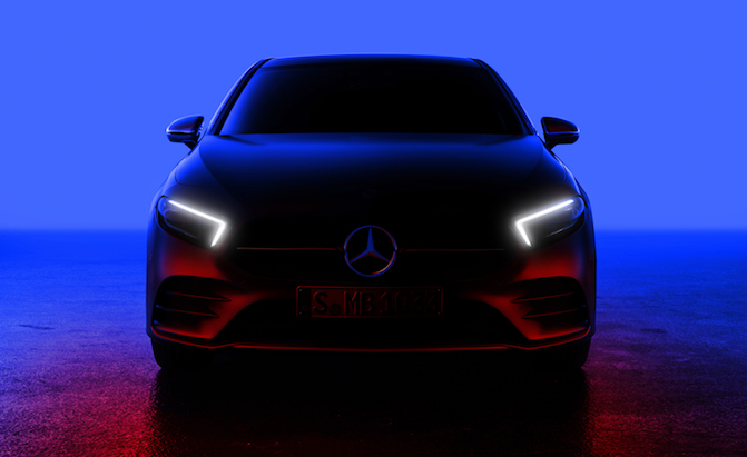 Mercedes-Benz A-Class Teased Ahead of Debut on Feb. 2nd
