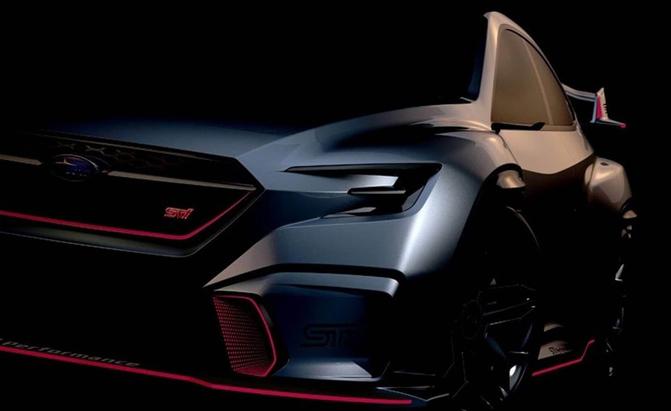 New Concept Previews Next Subaru WRX STI