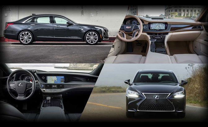 Poll: Lexus LS 500 or Cadillac CT6?