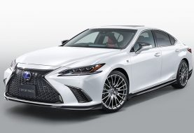 2019 Lexus ES Gets TRD F Sport Parts, Digital Mirrors Priced at $2,000