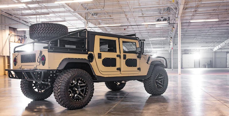 Quarter-Million Dollar Hummer H1 Is A 500 HP Baja Slayer