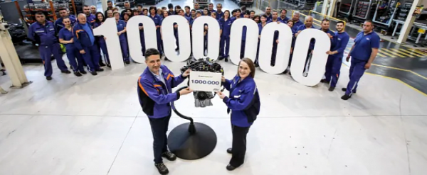 Ford Romania Produces 1,000,000th EcoBoost 1.0L Turbo Engine In Craiova