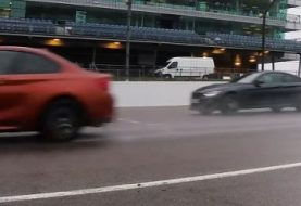 BMW M2 Competition, M4 Competition Drag Race, Have a Drift Off After