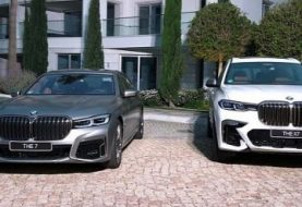 2020 BMW X7 vs. 7 Series: Who Has the Biggest Grille?
