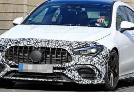 2020 Mercedes-AMG CLA 45 Spied in Detail, Looks Angry and Powerful