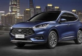"2020 Ford Escape Goes Bling-Bling With ""Nebula Shield"" Grille In China"