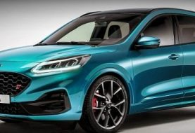 Ford Escape / Kuga ST Rendering Looks Like a Fat Hot Hatch