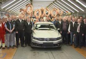 30 Millionth Volkswagen Passat Rolls Off the Assembly Line In Emden