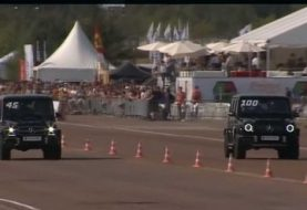 2019 Mercedes-AMG G63 Takes on Old G63 in Russian Half-Mile Drag Race