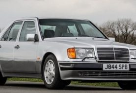 Rowan Atkinson's Mercedes-Benz 500 E Is A Wolf In Sheep's Clothing