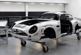 First Aston Martin DB4 GT Zagato Continuation Body Ready, Awaiting Its Heart