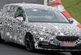 2020 SEAT Leon Drops Camo, Spied Testing Hard at the Nurburgring
