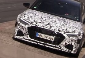 2020 Audi RS6 Spied at the Nurburgring, Sounds Angry About the S6 Getting V6