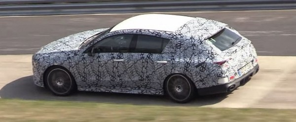 Mercedes-AMG CLA 35 Shooting Brake Spied In Detail at the Nurburgring