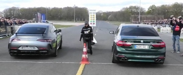 Mercedes-AMG GT 63S Drag Races Brabus E63, ABT RS6, Alpina B7