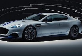 2020 Aston Martin Unwraps Its First Electric Car, the Rapide E