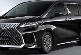 Lexus LM 300h Luxury Minivan Debuts, Looks Amazing