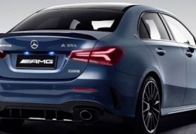 Mercedes-AMG A35 L Sedan Is Called Z177, Adds 60mm in China