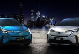 Electric Toyota C-HR Unveiled in China, Looks Futuristic