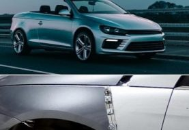 Volkswagen Eos Gets Clean Scirocco Face Swap
