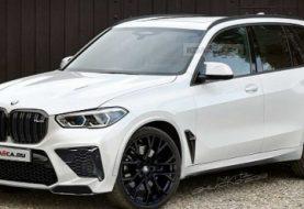 2020 BMW X5 M Looks Brutish in Latest Rendering