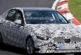 2021 Mercedes C-Class Spied Testing at the Nurburgring, Has AWD
