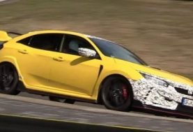 2020 Honda Civic Type R Lapping Nurburgring Hard, Turbo Dominates the Sound